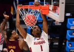 Early Line on Alabama vs. UConn or Maryland - NCAA Tournament 2nd Round