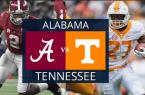 Alabama Crimson Tide vs. Tennessee Vols Betting Odds, Prop Bets