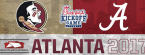 Alabama vs. FSU Week 1 Betting Line 2017