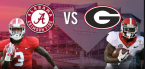 CFB Betting – Georgia Bulldogs at Alabama Crimson Tide