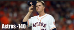 Astros -140 to Win in Game 7