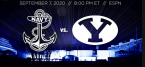 BYU @ Navy Prop Bets