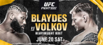 UFC Fight Night Odds – Curtis Blaydes vs. Alexander Volkov