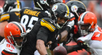 Forecast Line on Browns-Steelers Week 13 2019
