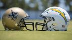 LA Chargers vs. New Orleans Saints Week 5 Betting Odds, Prop Bets