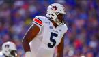 Derrick Brown Draft Position Betting Odds