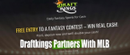 Draftkings to Use Official Major League Baseball Data