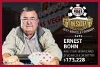 Ernie Bohn Wins $1500 Seven Card Stud Hi-Lo 8 or Better