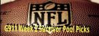 NFL Survivor Pool Tips - 2019 Week 2