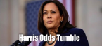 Harris Odds Fall