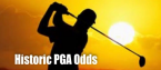 Historic PGA Odds as Two Non-Members Sit Atop Board