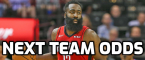 James Harden Next Team Odds