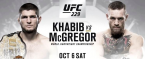 Where Can I Watch, Bet the Khabib vs. McGregor Fight - UFC 229 - Omaha
