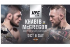 Where Can I Watch, Bet the Khabib vs. McGregor White Plains