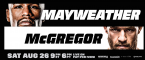 Where Can I Watch, Bet the Mayweather-McGregor Miami, Fort Lauderdale Area