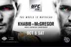 Where Can I Watch, Bet the Khabib vs. McGregor Fight - Cedar Rapids, Iowa City