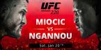 Miocic-Ngannou Fight Odds - UFC 220