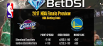 2017 NBA Finals Betting Preview