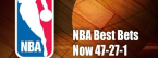 NBA Best Bets Now 47-27-1 63.5%
