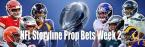 NFL Storyline Prop Bets for Week 2