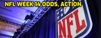 NFL Week 14 Morning Odds, Action Report