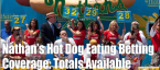 2019 Nathan's Hot Dog Eating Contest Odds