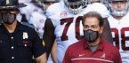 Nick Saban With Coach Virtually Under Covid 19 Quarantine