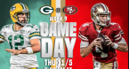 Packers-49ers Game Top 5 Most Bet on This Season