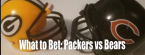 Bears-Packers: What to Bet Thursday Night Football?