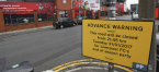 Mischievous Paddy Power Erects Road Closure Signs Outside Liverpool Stadium