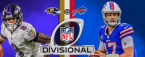NFL Playoff Betting – Baltimore Ravens at Buffalo Bills