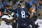 Titans Line Versus Chargers Moves Up Two Points in 24 Hours: Tannehill Starting