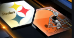 What is the Line on the Browns-Steelers Game January 10