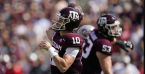 What is the Spread on the Texas A&M Aggies vs. Arkansas Razorbacks Week 4 Game