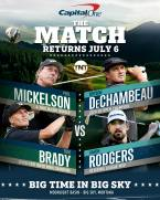 Bryson DeChambeau and Aaron Rodgers vs Phil Mickelson and Tom Brady Betting Odds