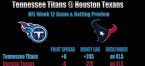 Titans vs. Texans Prediction, Betting Preview - Week 12