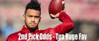 Tua Tagovailoa Draft Position Betting Odds