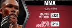 UFC 263 - Adesanya vs Vettori Winner Prediction