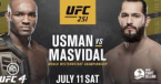 Where Can I Watch, Bet the Usman vs. Masvidal Fight UFC 251 From Edmonton, Alberta