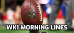 NFL Week 1 Morning Lines 2020, Dolphins-Patriots Middling Opportunity