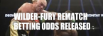 Wilder-Fury Rematch Betting Odds