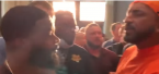 Chaos at Presser: Team Jake Paul Members Insults Tyron Woodley Mom (Watch)