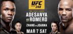 Adesanya vs. Romero Headlines UFC 248 in Las Vegas