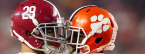 2018 College Football Playoff Semifinal Alabama vs. Clemson Betting Odds - Sugar Bowl