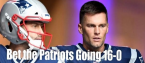 NFL Football Betting: Will the New England Patriots Go 16-0?