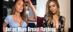 Odds on World Series Flasher Julia Rose Exposing Breasts at Other Games in '19