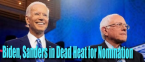 Bernie, Biden in Dead Heat for Democratic Nomination at BetOnline Ahead of Super Tuesday Results