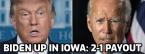 Biden, Trump Tied in Georgia: Latest Odds