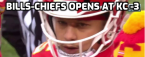 What is the Opening Line on the Bills vs. Chiefs AFC Conference Championship Game
