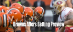 NFL Betting – Cleveland Browns at San Francisco 49ers